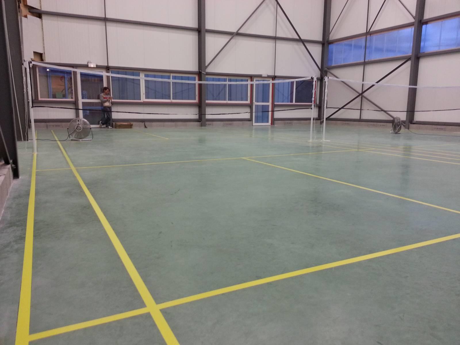Location terrain de badminton montpellier montpellier for Terrain montpellier